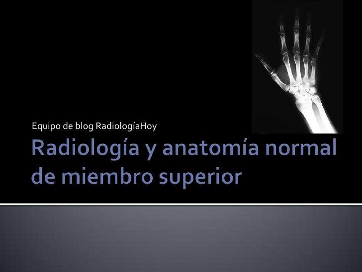 Equipo de blog RadiologíaHoy