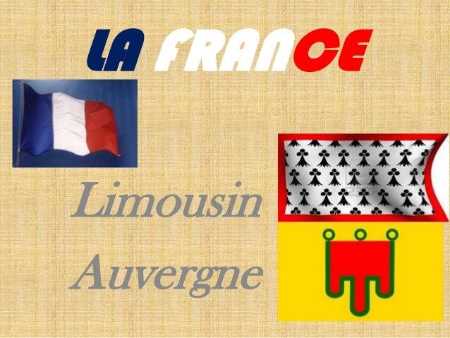 LA FRANCELimousinAuvergne