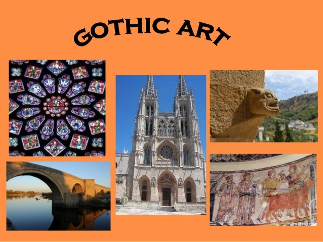 INTRODUCTION•   Gothic art is a style that develops in    Western Europe temporally    coinciding with the fullness and th...