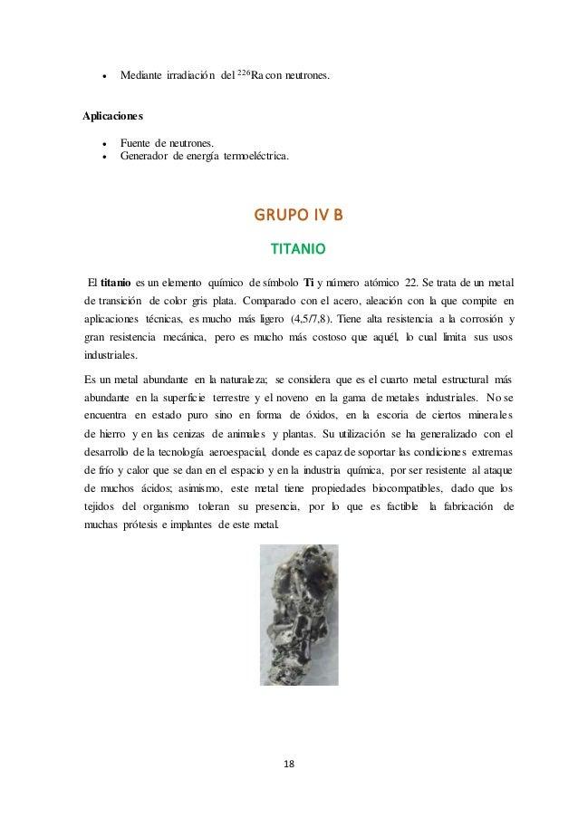 Elementos del grupo b 19 urtaz Images