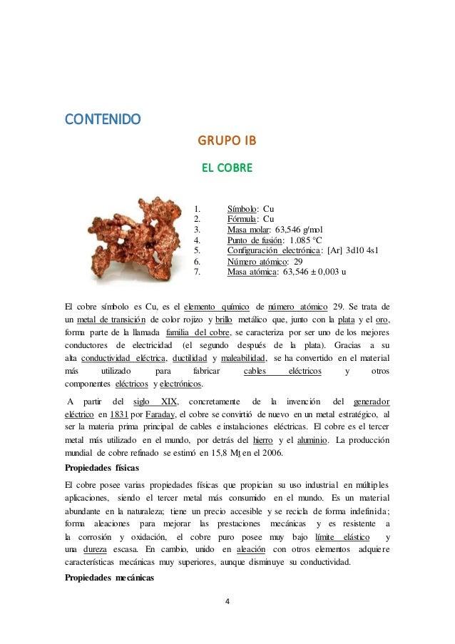 Elementos del grupo b 5 4 contenido grupo urtaz Images