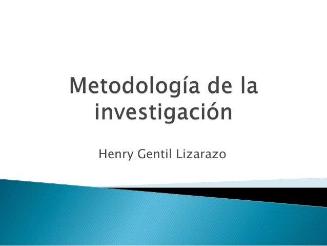 Henry Gentil Lizarazo