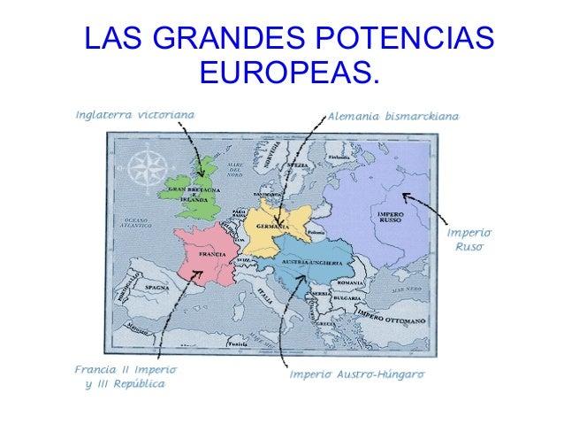 LAS GRANDES POTENCIAS      EUROPEAS.