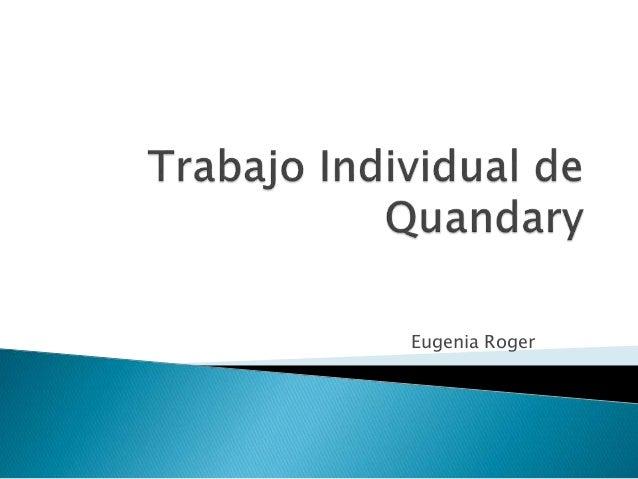 Eugenia Roger