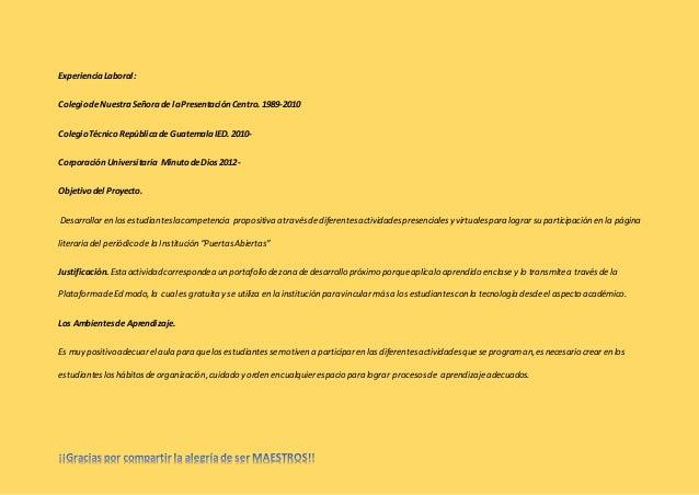 Trabajo individual portafolio  complemento unidad 2 Slide 2