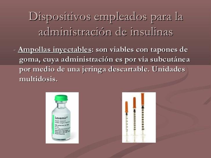 Trabajo insulinas