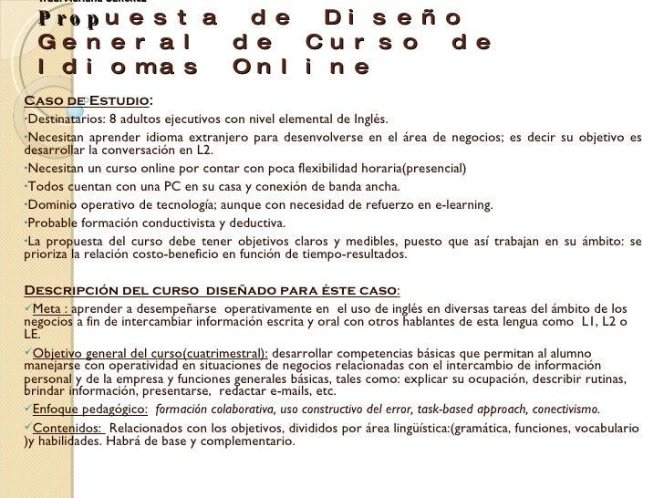 Experto Universitario en E-learning 2.0 y Entornos Virtuales para la Enseñanza de Idiomas Módulo 4 Trad. Adriana Sánchez P...