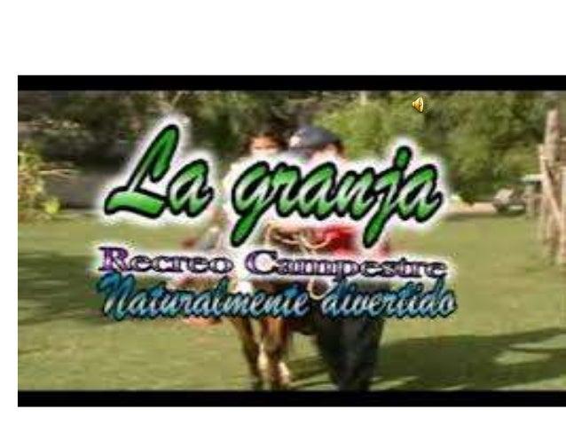 VISITA ALA GRANJA • NOS EMBARCAMOS DEL COLEGIO SIENDO LAS 9:30 AM DEL DIA VIERNES 4 DE OCTUBRE DEL 2013 • TODOS NOSOTROS E...