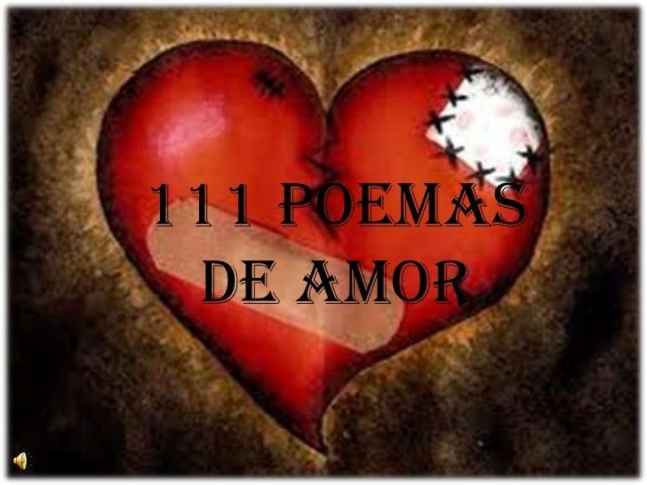 111 POEMAS DE AMOR