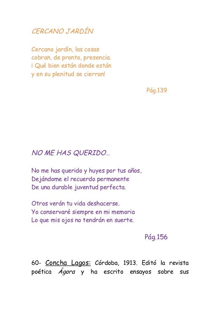 Poesia mi jardin querido antolog 237 as homenaje a for Adios jardin querido