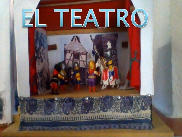 Las Partes Del Teatro