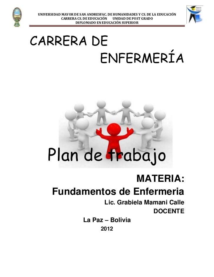 UNIVERSIDAD MAYOR DE SAN ANDRESFAC. DE HUMANIDADES Y CS. DE LA EDUCACIÓN            CARRERA CS. DE EDUCACIÓN  UNIDAD DE PO...