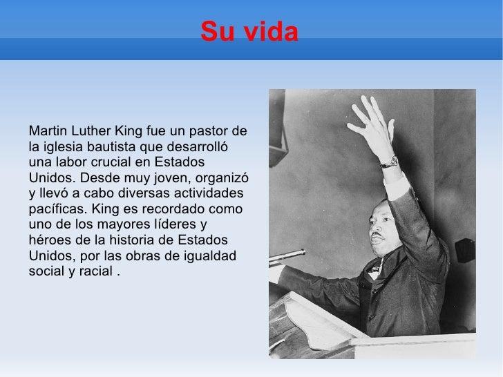 Martin Luther King Slide 2