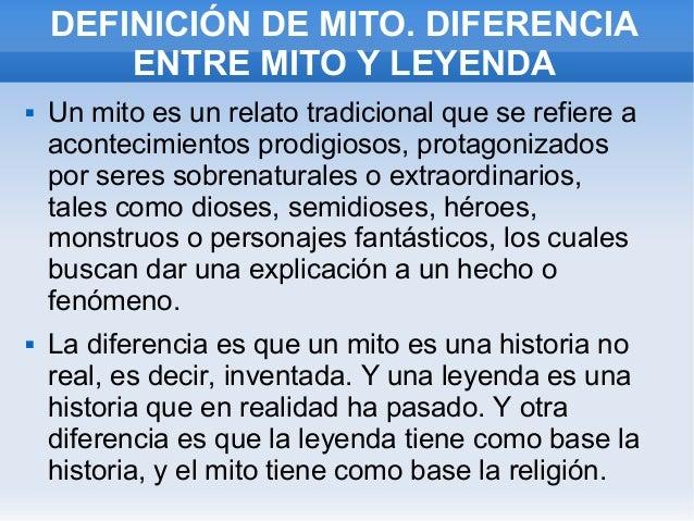 mitos y heroes definicion