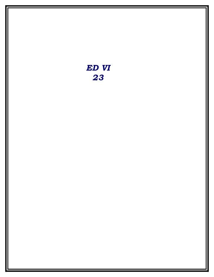 ED VI  23