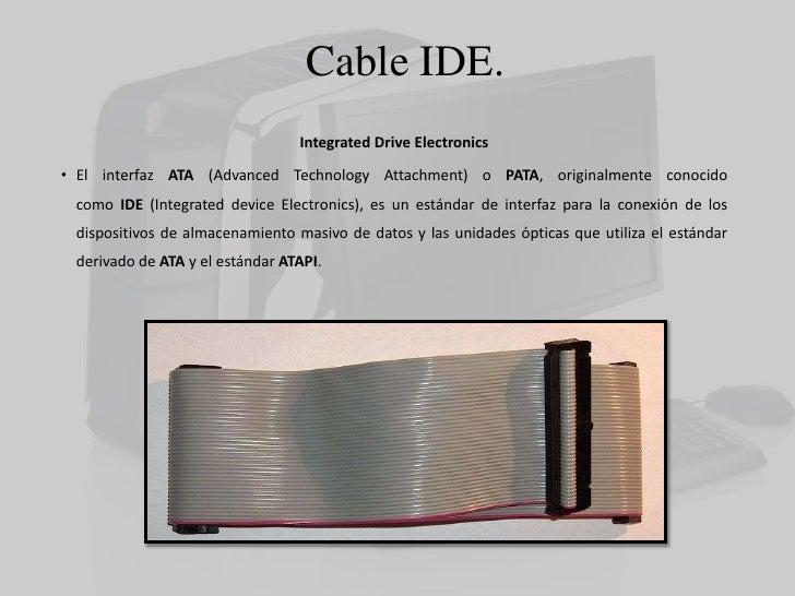 Investigaci 243 N Acerca Del Cable Sata E Ide Y Funcionamiento