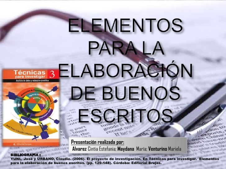 Presentación realizada por:                              Alvarez Cintia Estefania; Maydana María; Venturino MarielaBIBLIOG...