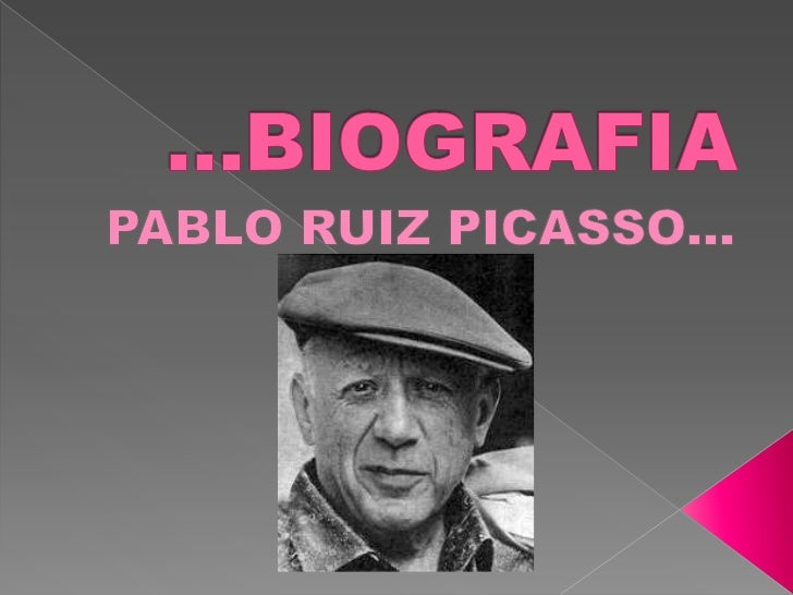 Pablo Ruiz Picasso (nació en Málaga, España; 25 de octubre de 1881 -f. Mougins, Francia; 8 de abril de 1973), conocido com...