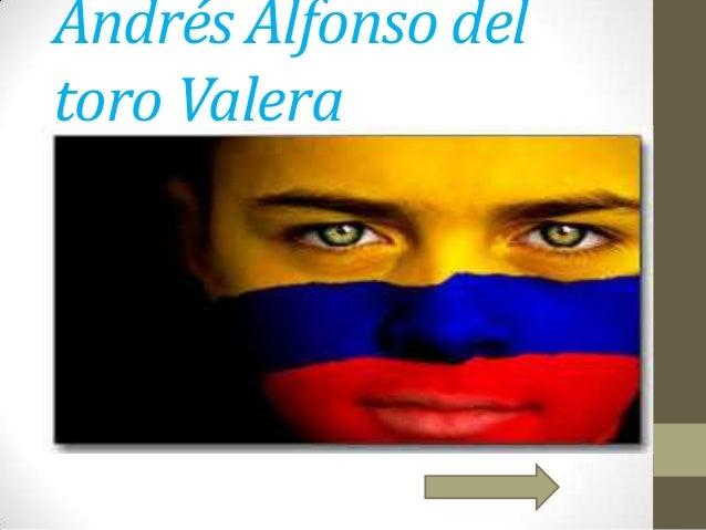 Andrés Alfonso del toro Valera