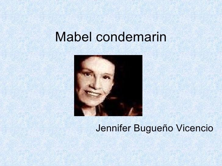 Mabel condemarin Jennifer Bugueño Vicencio