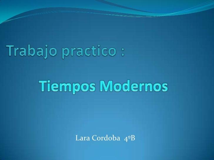 Lara Cordoba 4ºB