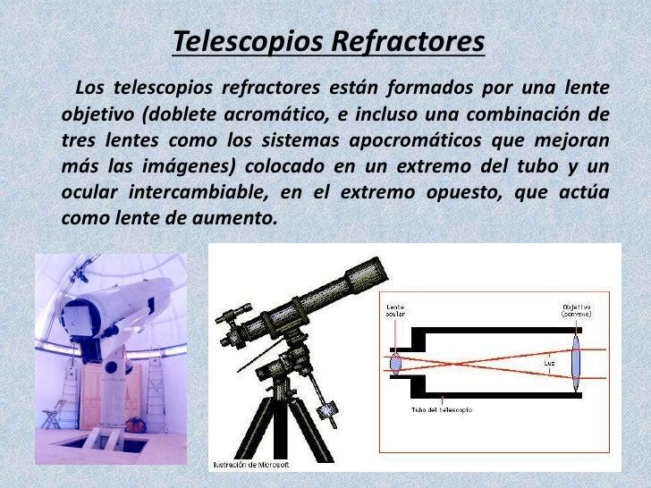 Tipos de telescopio