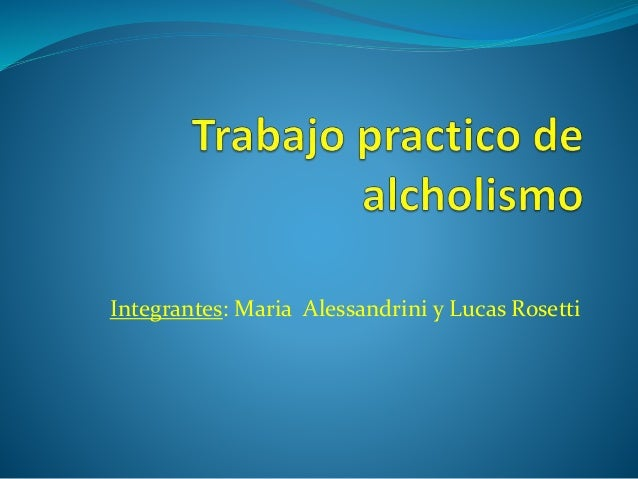 Integrantes: Maria Alessandrini y Lucas Rosetti