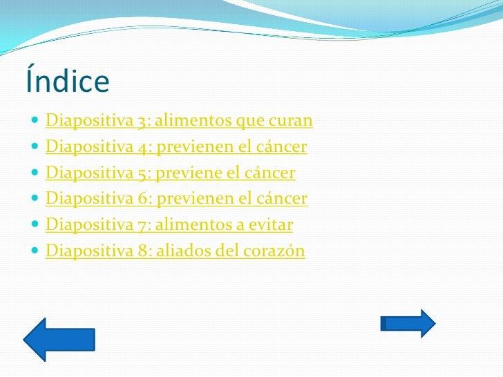 Trabajo practico n 1 power point marcos y mar a - Alimentos previenen cancer ...