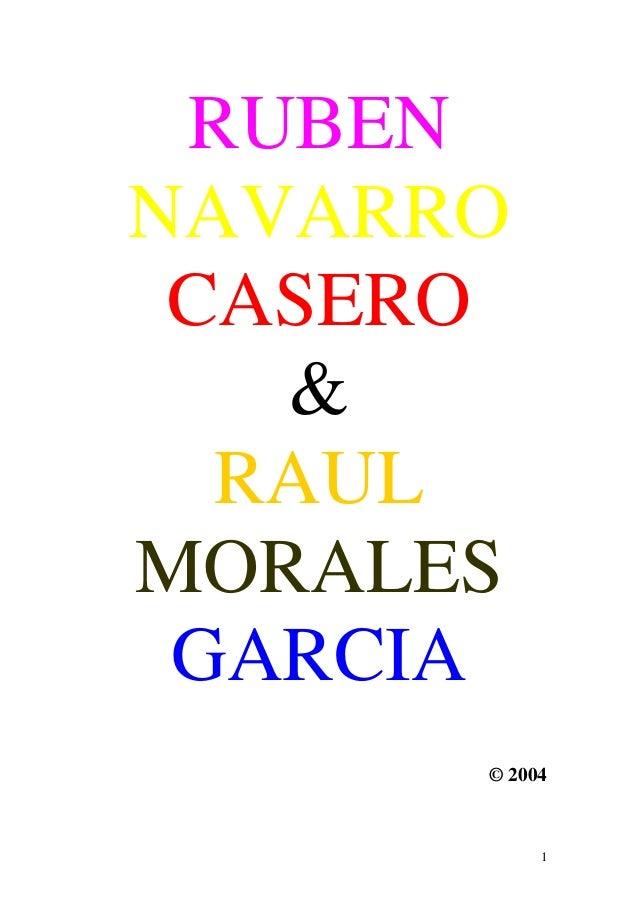 RUBENNAVARRO CASERO   &  RAULMORALES GARCIA      © 2004           1