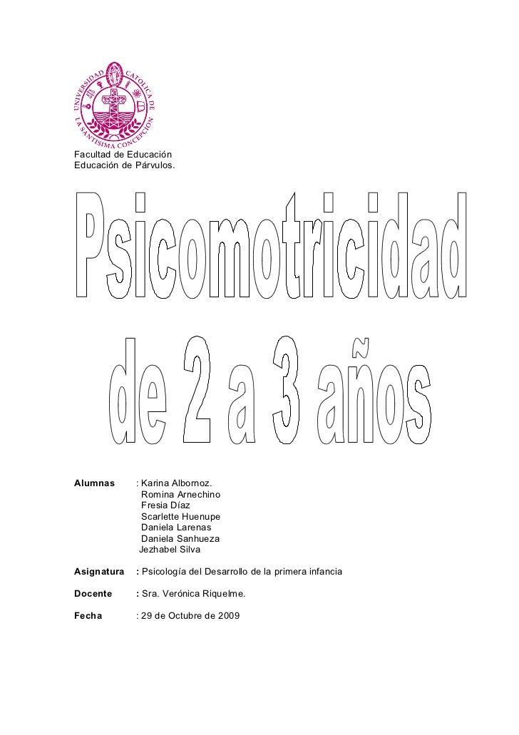 Facultad de Educación Educación de Párvulos.     Alumnas      : Karina Albornoz.                Romina Arnechino          ...