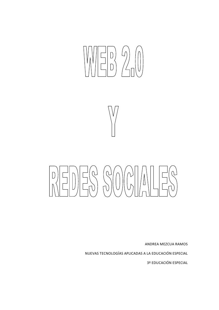 ANDREA MEZCUA RAMOSNUEVAS TECNOLOGÍAS APLICADAS A LA EDUCACIÓN ESPECIAL                               3º EDUCACIÓN ESPECIAL