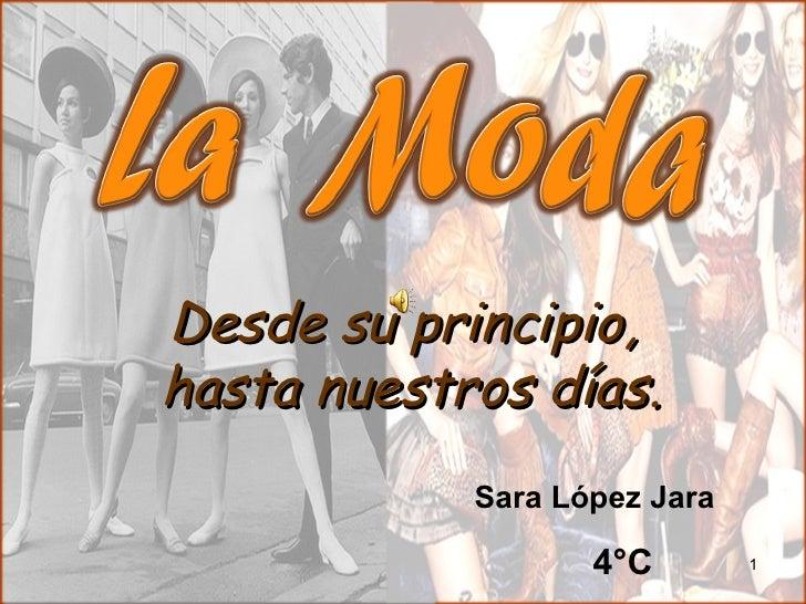 Desde su principio,hasta nuestros días.            Sara López Jara                   4°C        1