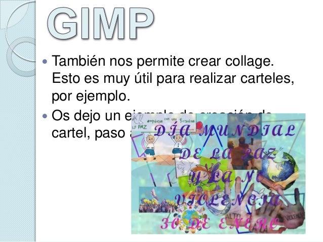 GIMP E INSKCAPE Slide 3