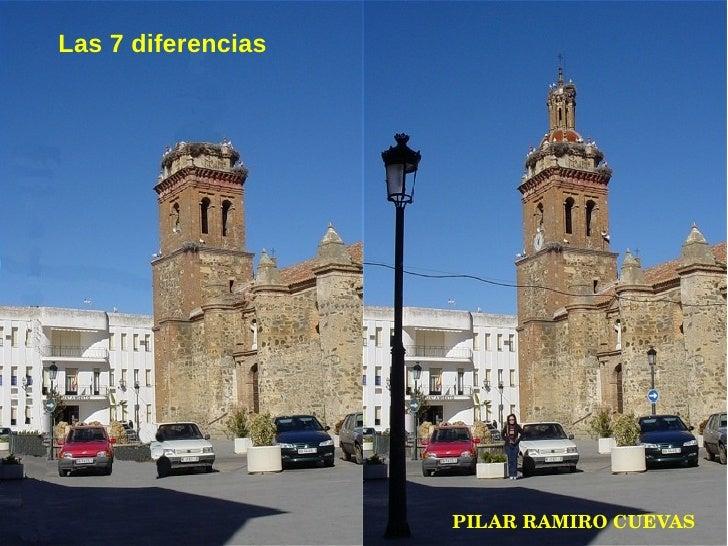 Las 7 diferencias PILAR RAMIRO CUEVAS