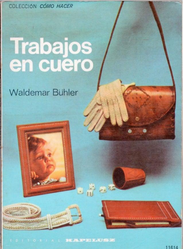 COLECCIÓN CÓMO HACER Waldemar BUhler 11614