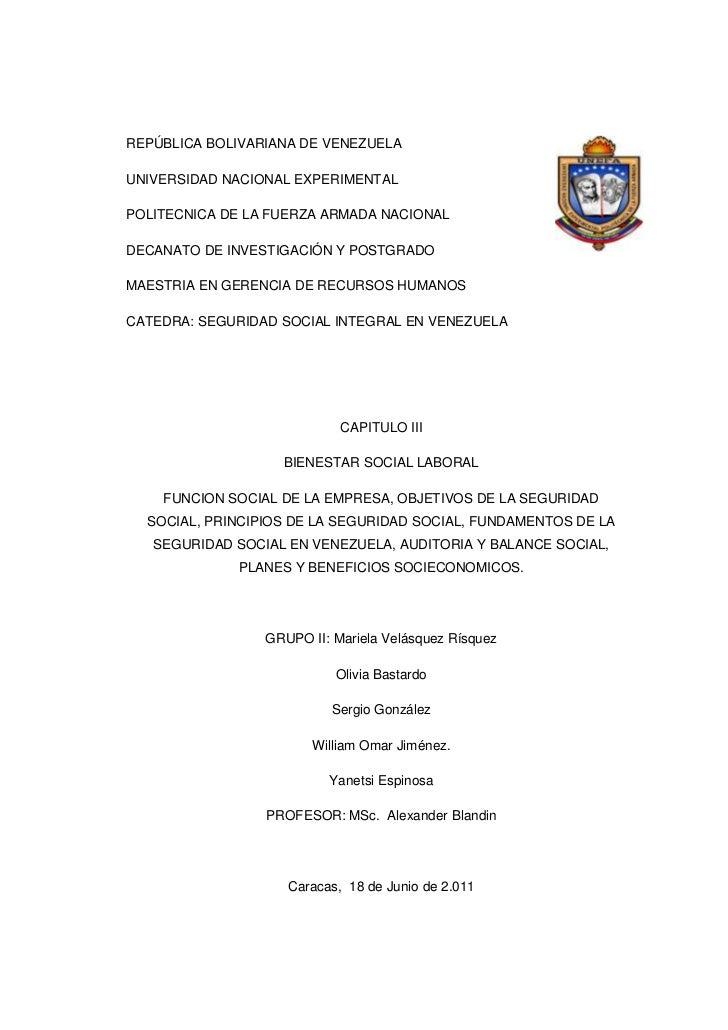 REPÚBLICA BOLIVARIANA DE VENEZUELAUNIVERSIDAD NACIONAL EXPERIMENTALPOLITECNICA DE LA FUERZA ARMADA NACIONALDECANATO DE INV...