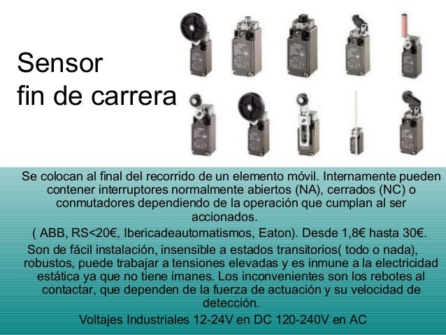 Trabajo Sobre Sensores De Proximidad Para Uso Industrial