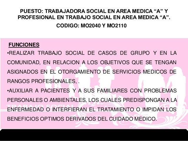 Trabajo social en los niveles - Casos practicos trabajo social ...