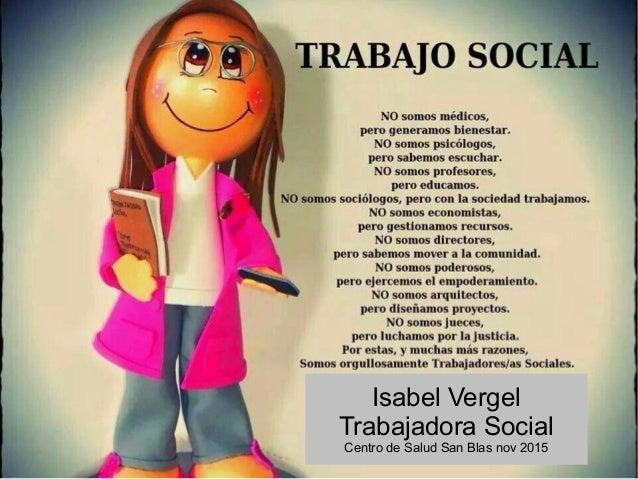 Trabajo Social En Salud 2015