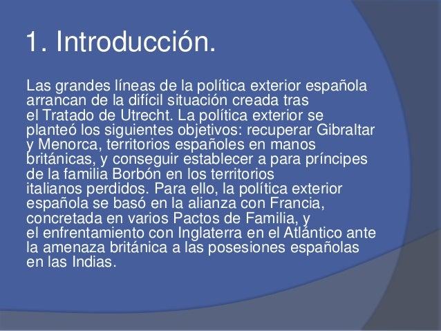 Pol tica externa de espa a for Politica exterior de espana