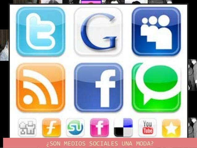 """Medios Sociales:  Medios sociales (""""Social media"""" en inglés) son medios de comunicación social donde la información y en ..."""