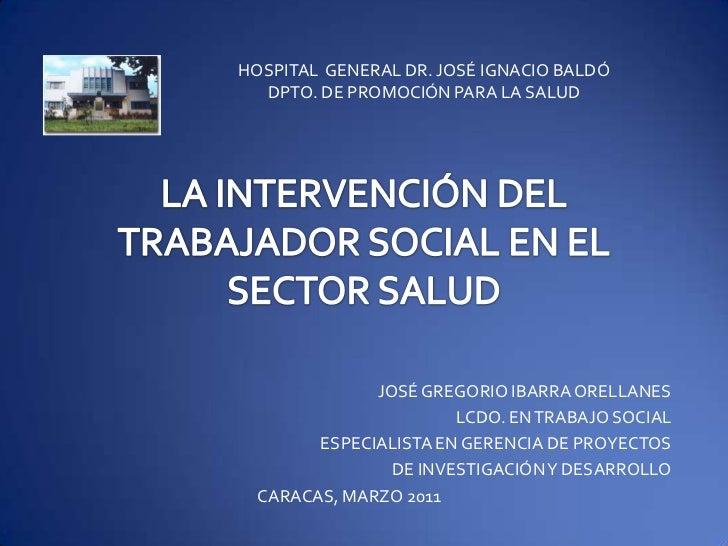 Trabajo social y salud