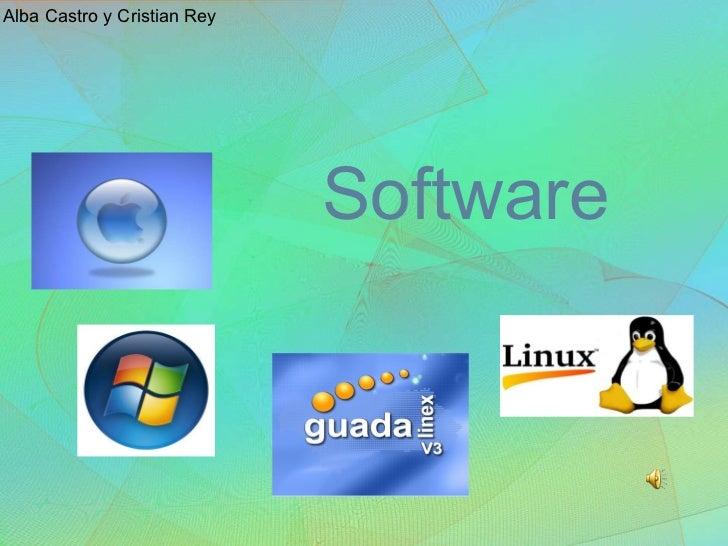 Software  Alba Castro y Cristian Rey