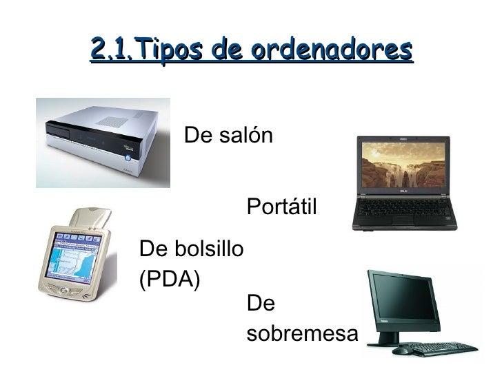 El ordenador y sus partes - Ordenador de salon ...