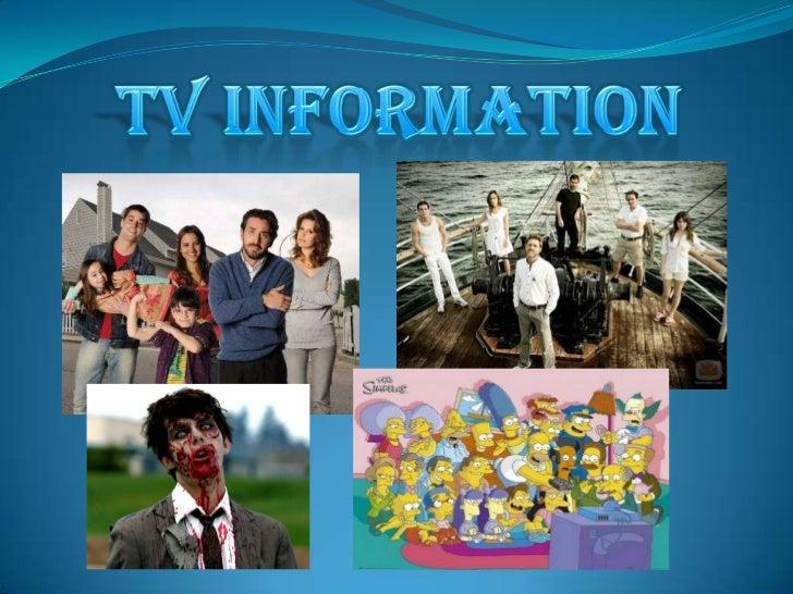L<br />TV INFORMATION<br />