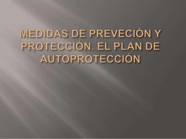  PREVECCIÓN: Es el conjunto de actividades omedidas que se adopta con el fin de evitar o disminuirlos riesgos derivados d...