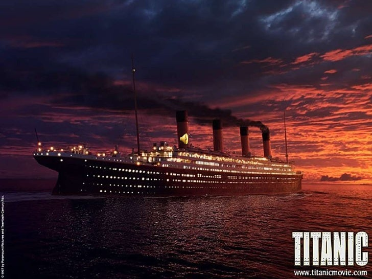 El Titanic• El Titanic (su nombre completo: RMS o SS Titanic) fue el segundo  de un trío de barcos de pasajeros contruidos...