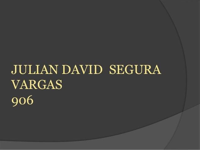 JULIAN DAVID SEGURAVARGAS906