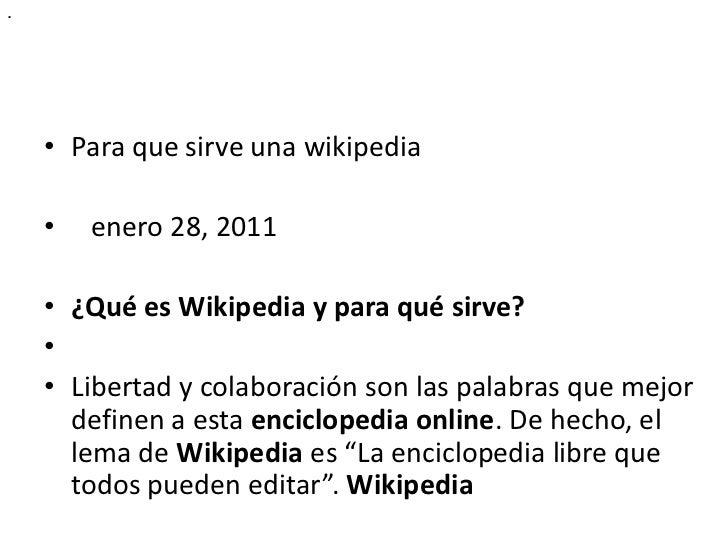 Trabajo wikipedia  wiki steve alejandro Slide 3
