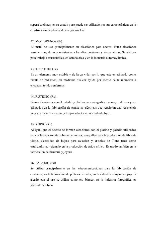 Elementos de la tabla periodica yeisilin santaella 17 superaleaciones urtaz Gallery